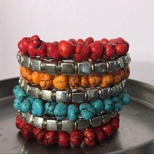 Multi-layer Multi-color Adjustable Bracelet